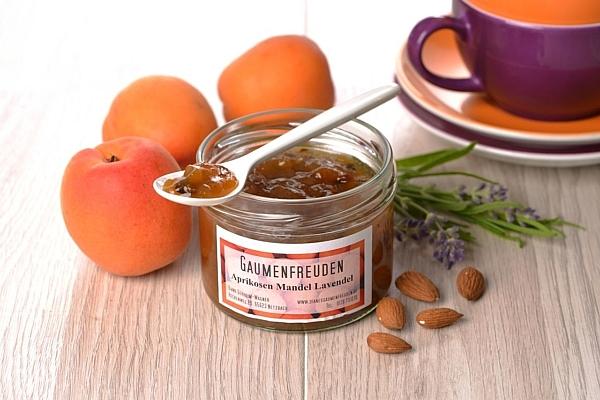 Aprikosen Mandel Lavende