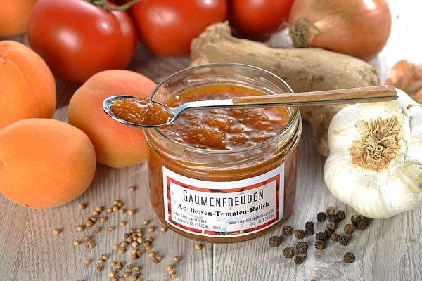 Aprikosen Tomaten Relish