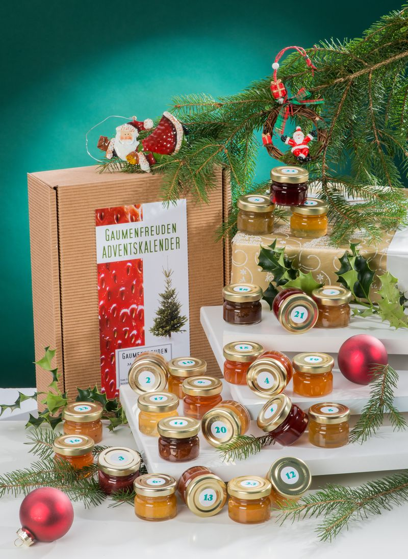 Marmeladen Konfitüren Adventskalender 2020